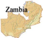 Map of Zambia...click for full display