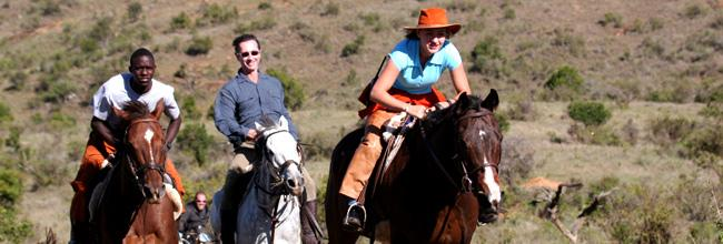 Horse ride on the Laikipia