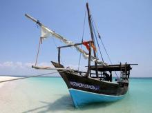 Ibo's traditional dhow