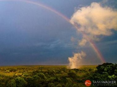 Full rainbow over Victoria Falls courtesy Tami Walker and Ross Kennedy-African Rains