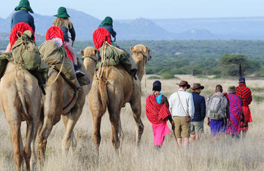 Day 3 - Laikipia walking and riding camels