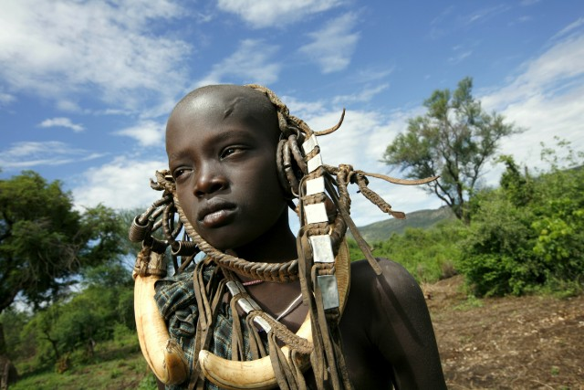 Omo Valley Ethiopia and the indigenous people and tribes
