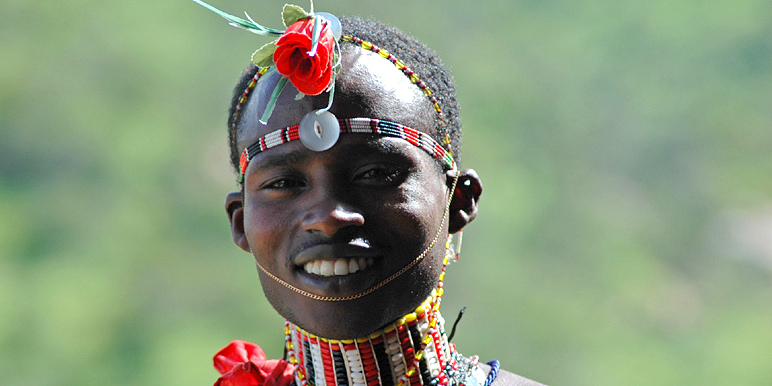 Samburu Moran in the Laikipia by John Berry