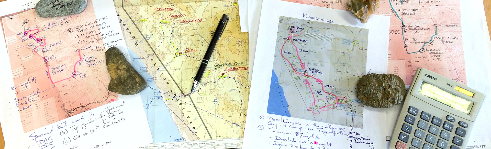 Planning self drive safari in Namibia
