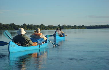 Canoe safari. Courtesy WETU/Natureways Safaris