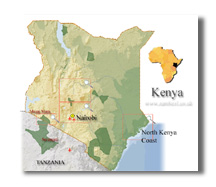 kenya_map[1] Go beyond the obvious when planning your next African Safari