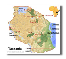 tanzania_map[1]Go beyond the obvious when planning your next African Safari!