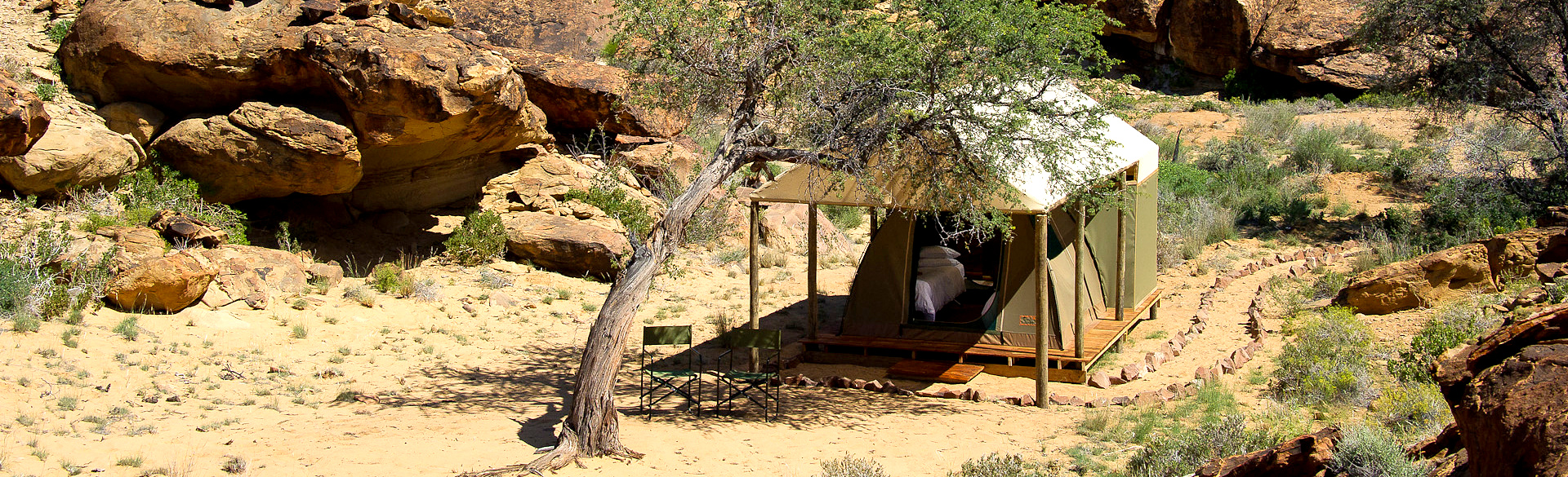 Damaraland Adventure Camp by Dana Allen courtesy Wilderness Safaris