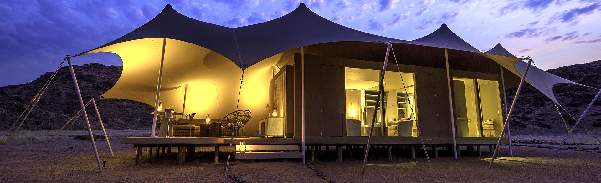 Hoanib Skeleton Coast tent by Dana Allen courtesy Wilderness Safaris