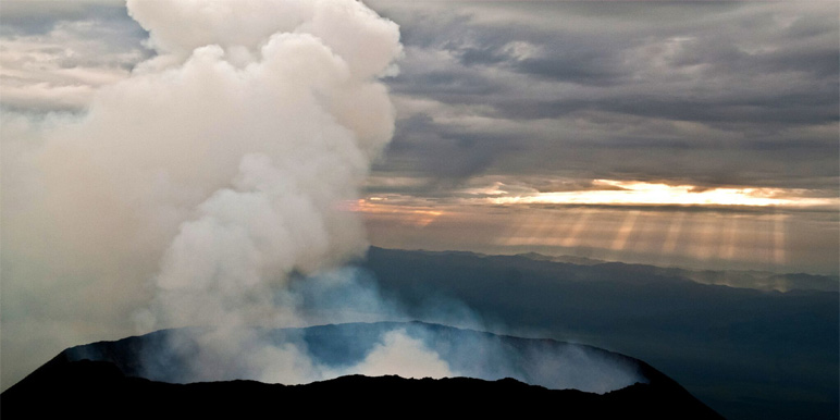 Visit Virunga and Nyiragongo volcano, eastern DRC courtesy Virunga National Park