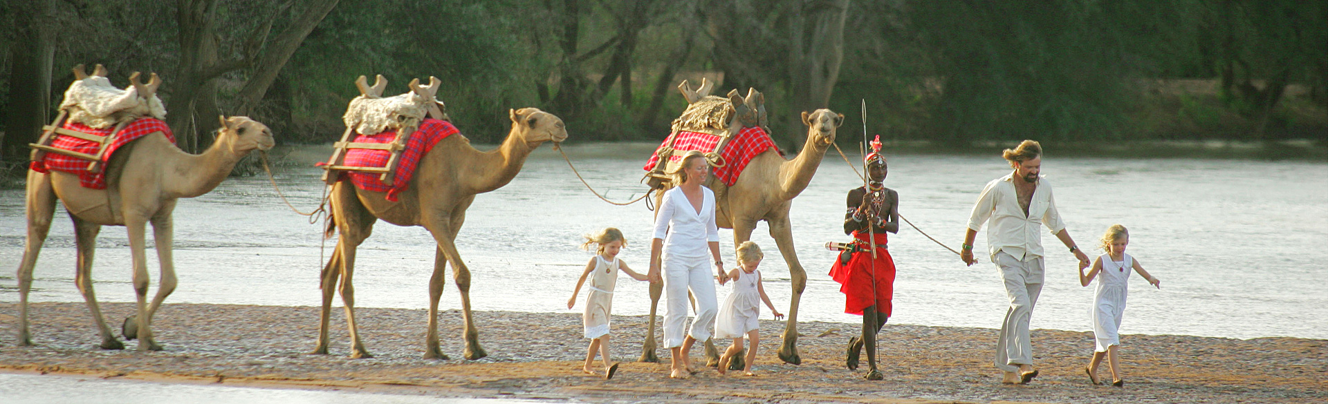 Walking with camels courtesy Sasaab