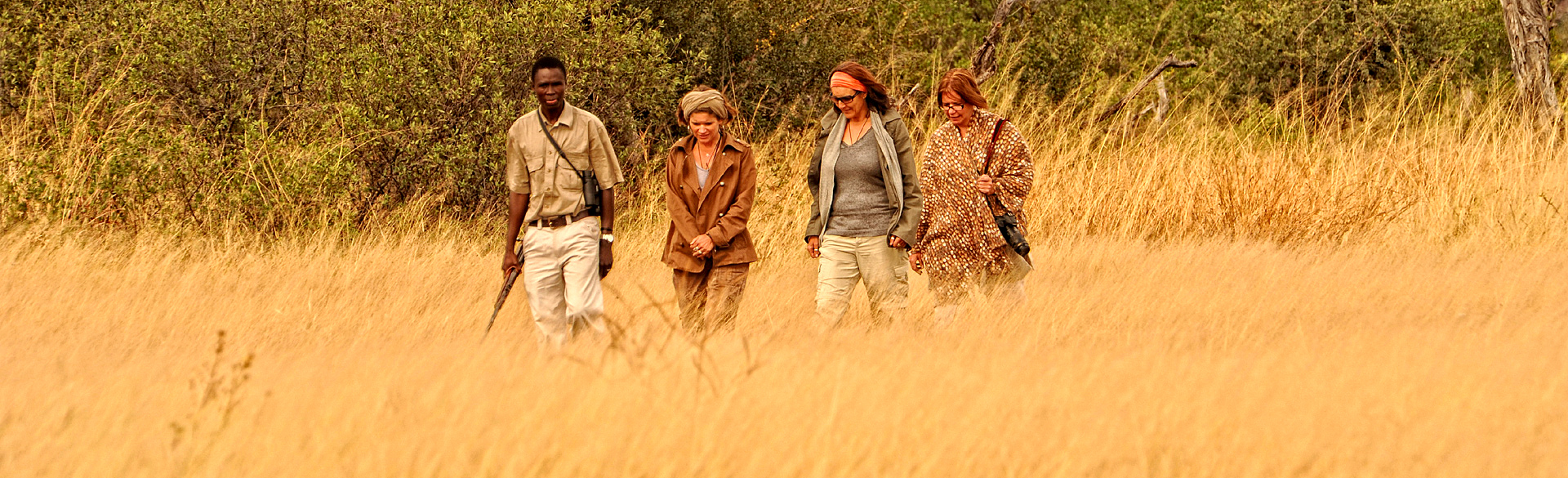 Walking from Somalisa in Hwange courtesy African Bush Camps