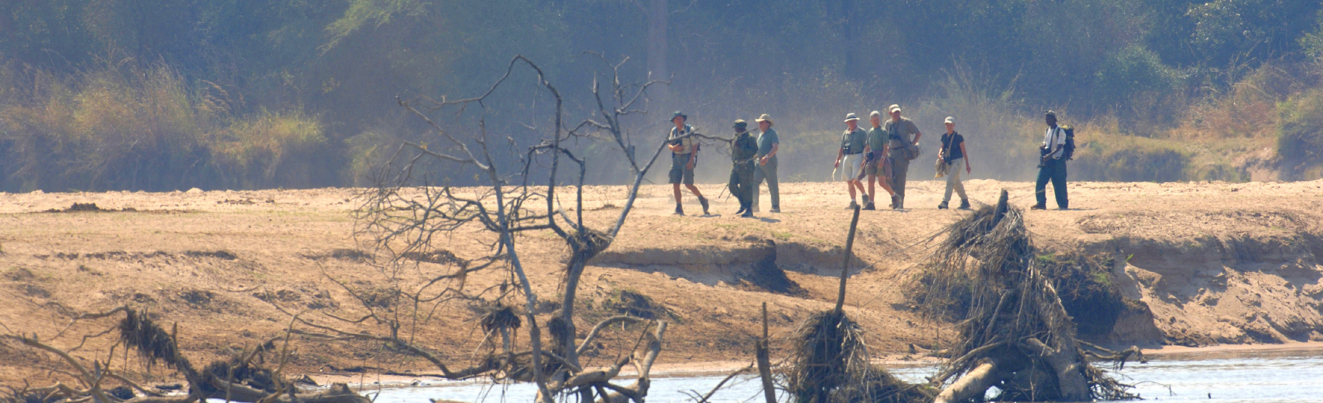 Wild walking in the North Luangwa with John Coppinger