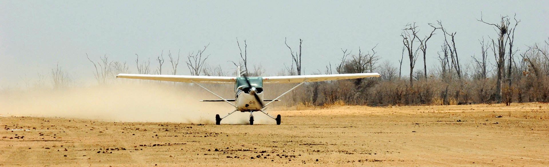 Hot arrival at the end of the dry season courtesy John Coppinger
