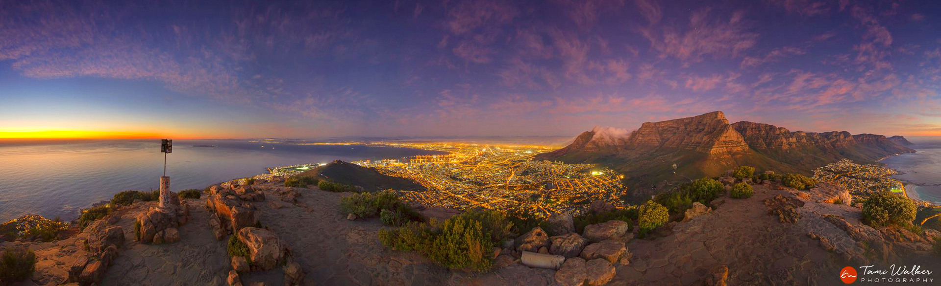 Cape Town from Lion's Head by Tami Walker