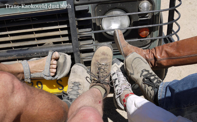 namibia dusty feet Time to get some honest African dirt between your toes?