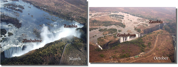 victoria falls floods Safari news and nuggets from 2015