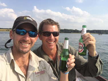 Safari Brothers - Brent and Grant Reed of Letaka Safaris