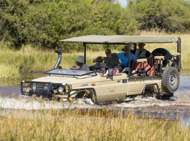 Crossing with Letaka Shadreck for Safari Bookings