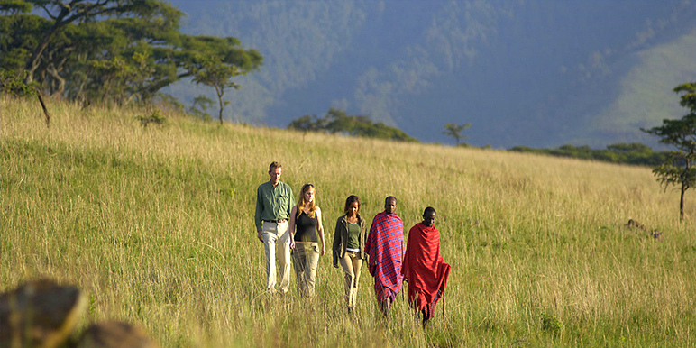 Northern Tanzania safari with Maasai courtesy Rupert Finch-Hatton