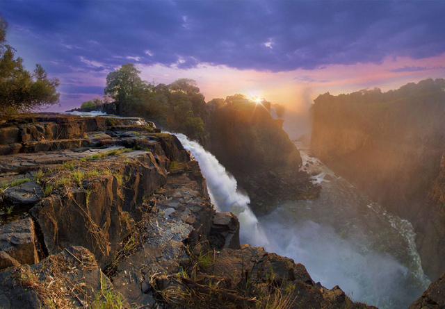 Victoria Falls. Southern Africa's iconic World Heritage Site on the Zambezi River. Courtesy Tami Walker.