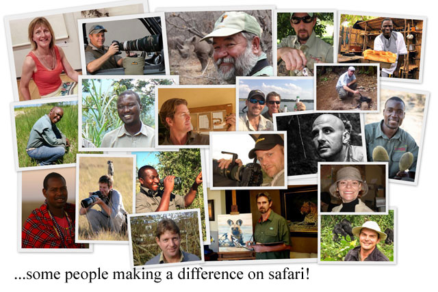 some people making a difference on safari in 2018