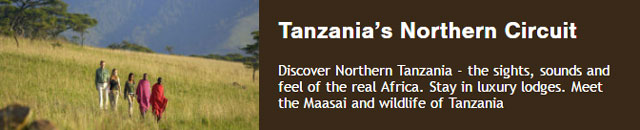 10 days of luxury in Tanzania's traditional northern circuit including Tarangire, Lake Manyara, Ngorongoro Crater and and Serengeti National Park